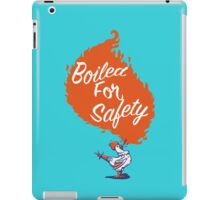 Good Mythical Morning Boiled For Safety iPad Case/Skin