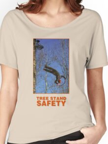 TREE STAND SAFETY Women's Relaxed Fit T-Shirt