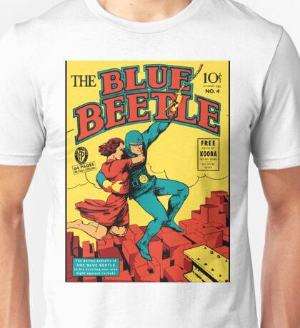 Blue Beetle Comic Cover Unisex T-Shirt