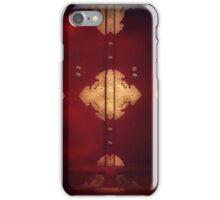 Behind the red door iPhone Case/Skin