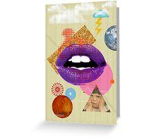 Retro Collection  --  Retro Kiss Greeting Card