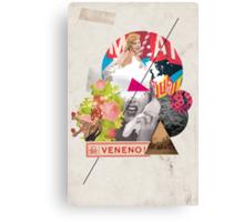 Retro Collection  -- Veneno / Poison Canvas Print