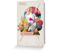 Retro Collection  -- Veneno / Poison Greeting Card