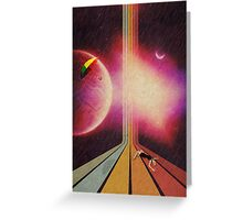 Retro Collection  --  Lost Greeting Card