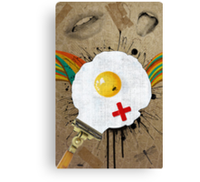 Retro Collection  --  Time For Breakfast Canvas Print