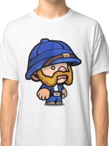 Spelunky - Blue Hunter Classic T-Shirt