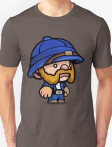 Spelunky - Blue Hunter Unisex T-Shirt