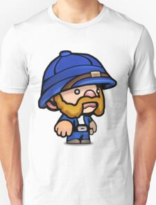 Spelunky - Blue Hunter Unisex T-Shirt