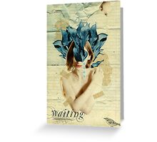 Retro Collection  --  Waiting Greeting Card