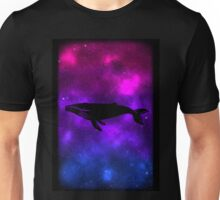 Space Bisexuwhale Unisex T-Shirt