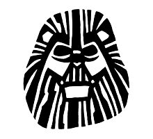 Darth Mufasa (Lion King + Star Wars) Photographic Print