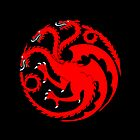 House Targaryen Dragon Sigil - Daenerys Targaryen Game of Thrones by mashedelephants