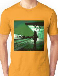 Chiswick Station, Green Unisex T-Shirt