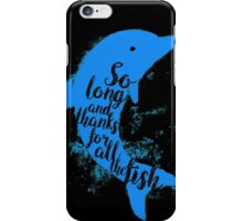 Thankful Dolphin iPhone Case/Skin