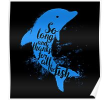 Thankful Dolphin Poster