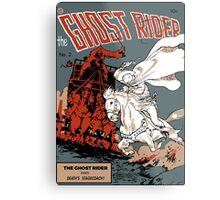 Ghost Rider Comic Cover Metal Print