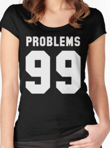 Bitchaintone Problems Women's Fitted Scoop T-Shirt