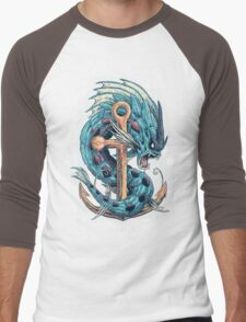 Mega Dragon Rage Men's Baseball ¾ T-Shirt