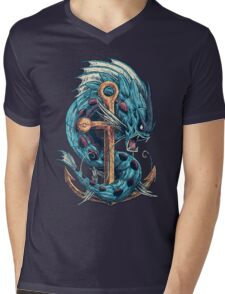 Mega Dragon Rage Mens V-Neck T-Shirt
