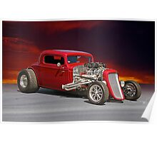 1934 Chevy Coupe Poster