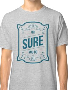 Flirting 101 with Officer Haught (04) Classic T-Shirt