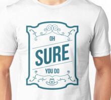 Flirting 101 with Officer Haught (04) Unisex T-Shirt