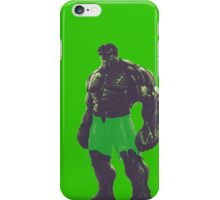 The Incredible Hulk iPhone Case/Skin