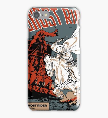 Ghost Rider Comic Cover iPhone Case/Skin