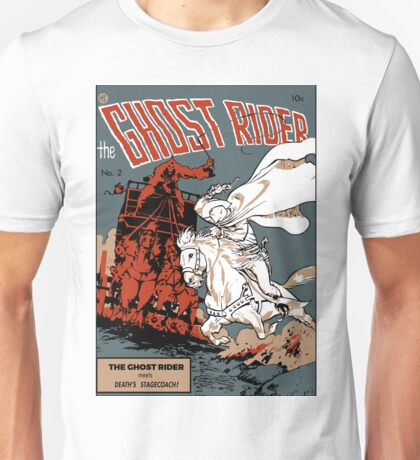 Ghost Rider Comic Cover Unisex T-Shirt