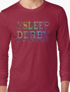 Eat Sleep Derby Repeat (Rainbow) T-Shirt