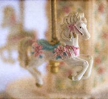 Pretty carousel pony by Celeste Mookherjee