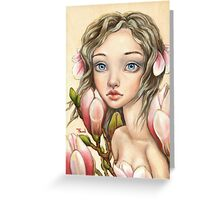 Spring Wind Greeting Card