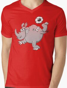 A Rhinoceros is the New Star of Soccer T-Shirt