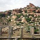 Ruins of Hampi by magiceye