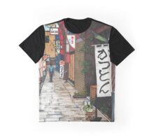 Flowers in an Alley Graphic T-Shirt