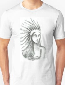 Girl of a Feather Unisex T-Shirt