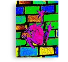 Leap Frog Canvas Print