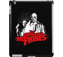 The Abominable Dr.Phibes iPad Case/Skin