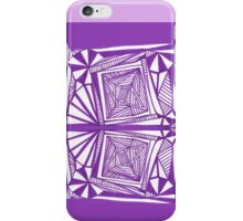 Purple Pattern Proposed 4 Picture Portal iPhone Case/Skin