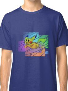 Springing Pikachu Classic T-Shirt