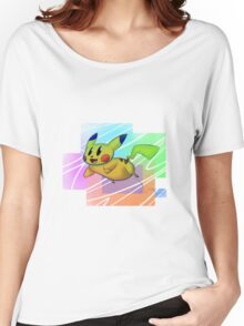 Springing Pikachu Women's Relaxed Fit T-Shirt