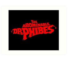 The Abominable Dr.Phibes Art Print
