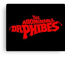 The Abominable Dr.Phibes Canvas Print