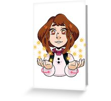 Stars in Her Eyes Greeting Card