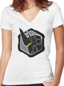 reinhardt´s logo Women's Fitted V-Neck T-Shirt