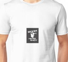 Boom Headshot Counter Strike Unisex T-Shirt
