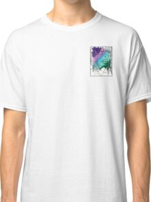Girl with Flower Classic T-Shirt