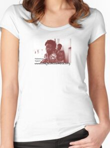 Support to Mothers in Remote Zambia Women's Fitted Scoop T-Shirt