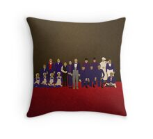 Grand Budapest Hotel Throw Pillow
