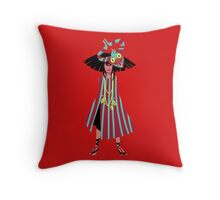 Devil Guide Throw Pillow